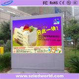 P10 SMD3535 높은 광도 광고를 위한 옥외 풀 컬러 LED 영상 벽 스크린 위원회