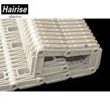 Hairise durchlöcherte gewelltes Rippen-Fieberhitze-Rasterfeld-modulares Förderband
