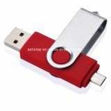 USB3.0 플라스틱 회전대 USB Pendrive 디스크 전화 USB 섬광 드라이브