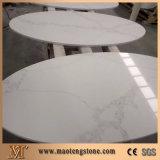 水晶石造りのテーブルの上