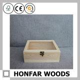 Cadre de mémoire en bois de type simple pour le cadeau