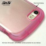 Caixa do telefone de pilha do efeito TPU da cor do inclinação do sentimento da mão de Shs boa para o iPhone 7