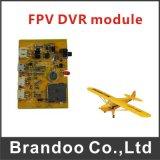 Tamanho ultra micro 1CH SD DVR, mini DVR módulo de Fpv