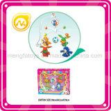 Lustiges Baby-Bett Bell beweglich mit Ragdoll, Tuch-Puppe-Spielwaren