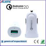QC 2.0 단 하나 포트 USB 빠른 차 충전기