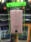 Bolso impermeable colorido de la cubierta del teléfono universal para 5.5 pulgadas