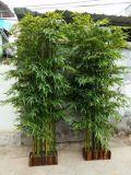 Het openlucht Bamboe van het Bamboe van het Gebruik Kunstmatige voor het Decor van de Tuin