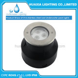 도매 Waterproof Luminaire IP68 12V 9watt LED Recessed Underwater Light