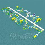 OEM巨大な水ゲーム遊園地のための膨脹可能な水公園