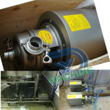 Pompe centrifuge de pente d'acier inoxydable de polonais sanitaire de miroir