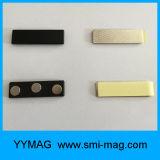 Los tenedores de plástico tarjeta magnética con 3 discos imanes de neodimio