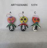 """de """" tâmara H 5.5 da decoração inoperante Gift-3asst de Halloween"""