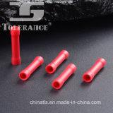 Conetor da extremidade da amostra livre com material isolado PVC