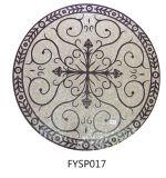 Azulejo de la moqueta del mosaico de la piedra del mármol del jet de agua (FYSP017)
