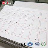 F08 3*7 het Inlegsel van pvc Prelaminated van RFID