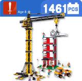Turmkran-Baustein-Spielzeug für Kinder