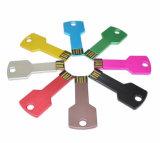 USB 기억 장치 새로운 선물 금속 Pendrive USB 플래시 메모리 지팡이