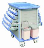 AG-Wnt001 mit ABS materieller medizinischer Laufkatze-Medikation für Emergency Laufkatze
