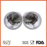 Ws-Pgs011 acero inoxidable y vidrio - Manual ajustable Pepper Grinder Set / Set molino de pimienta