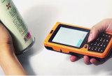 Computador Handheld, leitor de RFID, terminal Handheld áspero dos dados, leitor de código da barra, IP65 PDA industrial