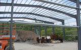 Almacén confeccionado pesado de la estructura de acero