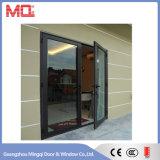 Porte en aluminium en verre d'ouverture d'Exexternal
