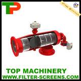 Filtre rinçant à partir de l'orifice de vidange automatique de traitement des eaux de haute précision