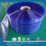 표준 투명한 ID 파란 PVC 지구 커튼 롤 200mm 폭
