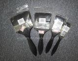 Pennello di plastica della maniglia con il materiale nero della setola