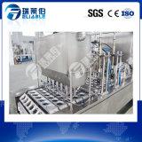 Máquina de relleno del lacre de la taza que se lava para la leche del agua/de la jalea/del jugo/de soja