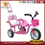 Красный розовый тип трицикл голубого воздуха для ребенка