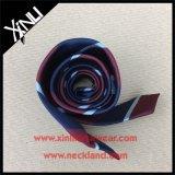 乾燥きれいな編まれた縞Azoの自由に絹のネクタイだけ