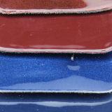 Leer van de Handtassen van het Leer van de Schoenen van de Oppervlakte Pu van de Spiegel van de manier het Glanzende (CF5612A)