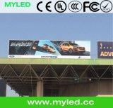 Panel P10 LED-Bildschirmanzeige 960mm x 960mm mit druckgießendem Aluminiumschrank