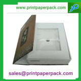 Contenitori impaccanti personalizzati della chiusura del documento di capelli magnetici della scatola di cartone