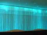 Fontana dell'interno della cortina d'acqua di musica della fontana di acqua