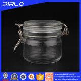 200ml Wholesale hermetisches luftdichtes freies Glasstau-Glas mit Metallclip für Gesichtsschablone
