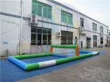 Wasser-Spiel-aufblasbares Volleyball-Gericht für Erwachsene und Kinder