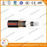 5kv Solid Aluminium Conductor 2/0 AWG Urd Power Cable