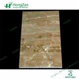 石造り材料は壁羽目板の大理石の蜜蜂の巣のパネルを使用した