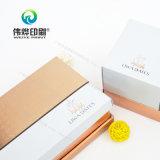 Caixa de papel rígida da alta qualidade luxuoso do projeto