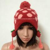 Beanie Moda para niños con los oídos / Pompón / jacquard / Patch / Cuerdas