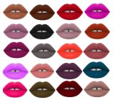 Lustre de 04 labios