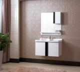 An der Wand befestigter moderner Schrank-Serien-Eichen-Holz-Badezimmer-Schrank