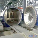autoclave de cristal de la calefacción eléctrica de 3000X6000m m para la línea planta de la laminación
