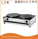 Sc820A高品質の倍の電気温度調整のクレープメーカー
