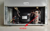 Congélateur solaire de double porte de réfrigérateur de véhicule de réfrigérateur de Purswave Bcd-168 168L DC12V24V et compresseur de refroidisseur frigorifiant pour l'automobile de bus de moteur de véhicule