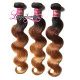 Capelli indiani del Virgin di estensione dei capelli umani del commercio all'ingrosso 100%