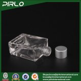 30ml de duidelijke Emptyglass Gevormde Flessen van de Geur van de Olie Cosmetc van het Parfum Rechthoekige/Vierkante met Aluminium GLB