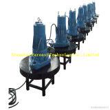 A água encheu de vários estágios/petróleo - enchidos/construídos em meus/na bomba submarino da fonte